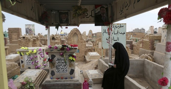 A family mourns son lost to fighting IS in Iraq's Mosul