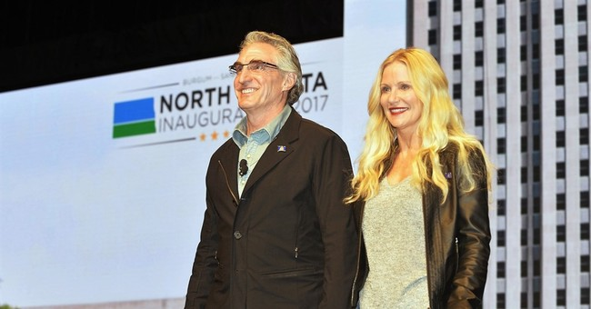 Jeans get governor booted from North Dakota Senate's floor