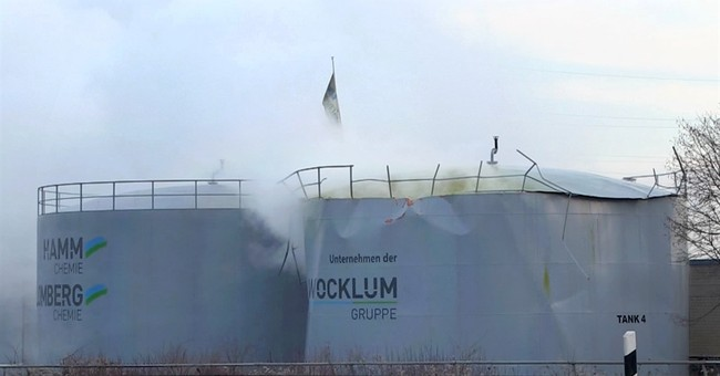 Sulfuric acid cloud causes breathing troubles in Germany