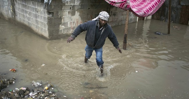 Flooding in Gaza overwhelms battered infrastructure