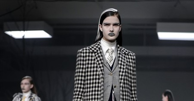 Thom Browne creates a winter wonderland in tweed and flannel