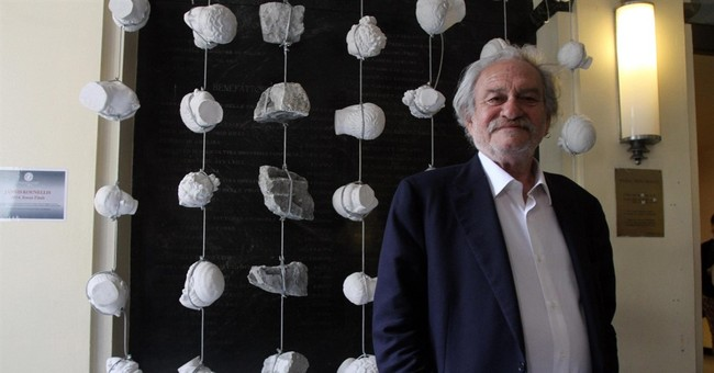 Greek artist Jannis Kounellis dies in Rome at 80