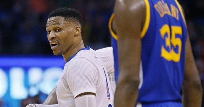 Westbrook, Durant All-Star reunion off to awkward start