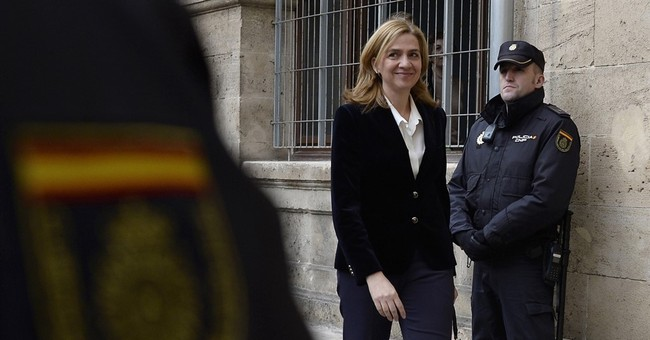 Spain's Princess Cristina found not guilty in tax fraud case