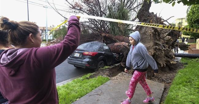 The Latest: Storm aiming for California renews flood fears