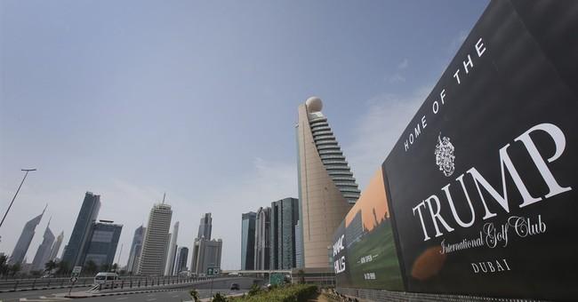 Trump sons open Dubai golf club as namesake now US president