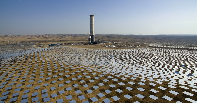 Israel harnessing sunshine with world's tallest solar tower