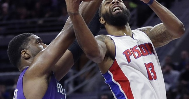Pistons hold off Hornets when Belinelli's shot is too late