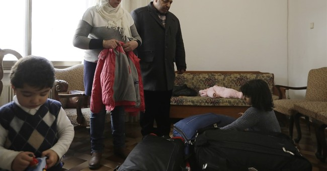 Fading French town offers hope of new life for Syrian family