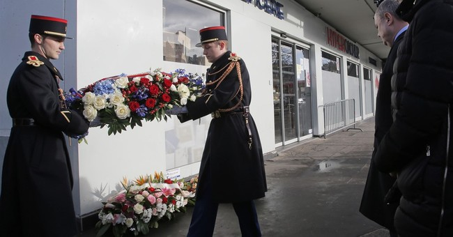 France honors victims 2 years after Charlie Hebdo attacks