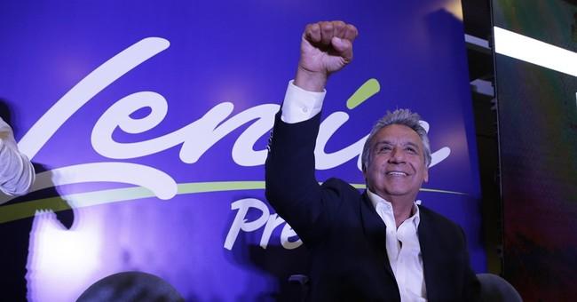 Official: Ecuador's presidential election headed to runoff