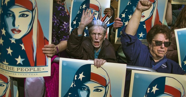 Immigration rallies held around US to support Muslims