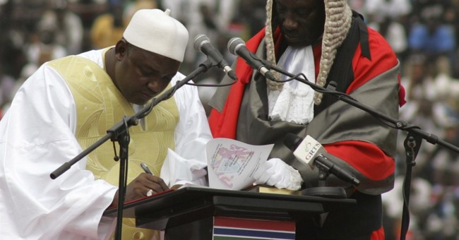 Gambia's new president commits to end human rights abuses