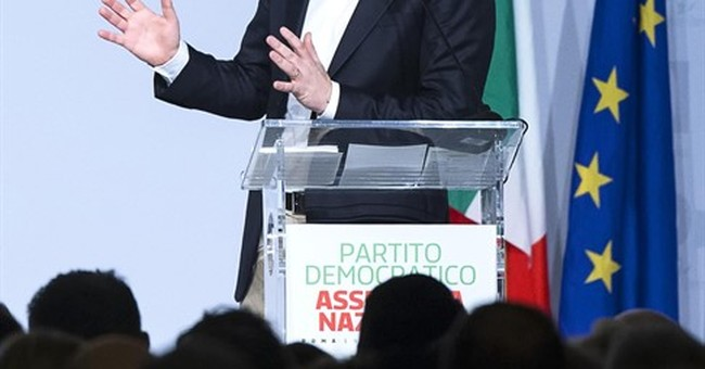 Italy's Renzi resigns as party chief, seeks renewed mandate