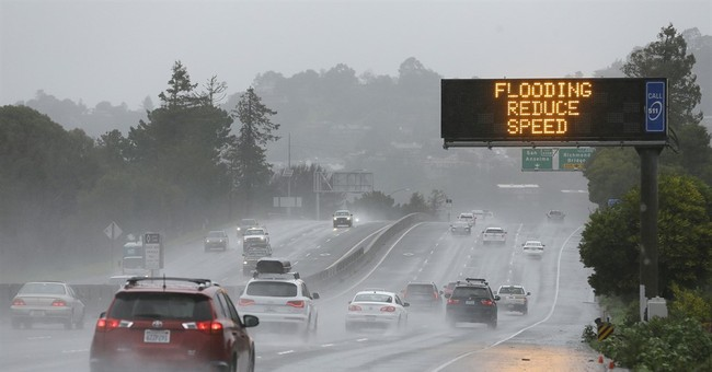 The Latest: California levee breach plugged
