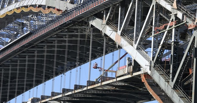 Newly raised section of Bayonne Bridge open to traffic