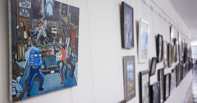 Congressman intends to sue over removal of painting