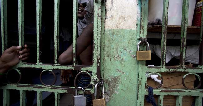 "AP Exclusive"" Malnutrition killing inmates in Haiti jails"