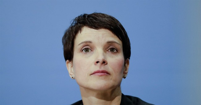 German nationalist Petry met with Putin allies