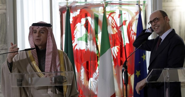After Trump remarks, Saudi repeats Palestinian state support