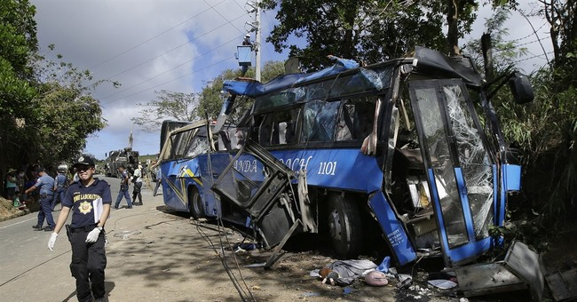 Death toll in Philippine bus crash climbs to 15