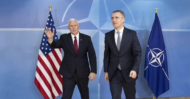 Pence tries to reassure European leaders shaken by Trump