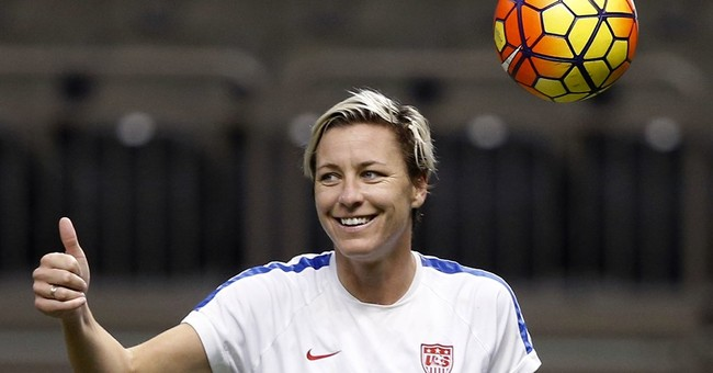 Soccer star Abby Wambach gets engaged to Christian writer
