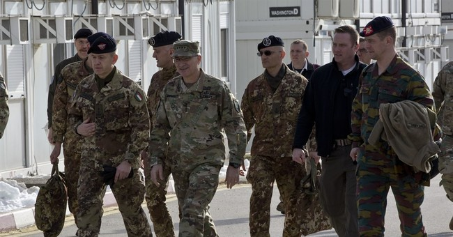 NATO general: Troops will stay in Kosovo as long as needed