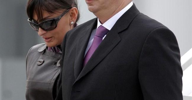 Azerbaijan's leader names his wife as 1st vice president