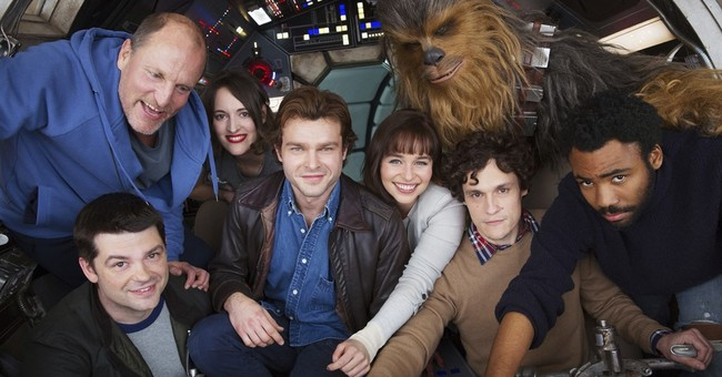 Shooting gets underway for Han Solo 'Star Wars' film