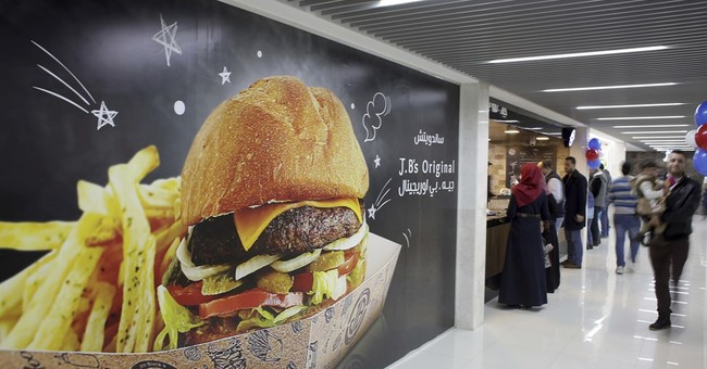 Gazans excited over territory's new indoor mall