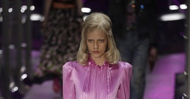 Gucci presents otherworldly fall-winter collection in Milan
