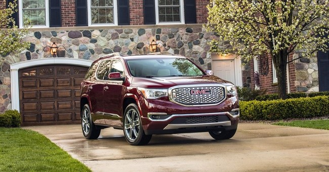 GMC cuts size and cost of Acadia mid-size SUV for 2017