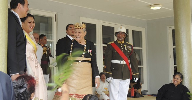 Island kingdom of Tonga mourns the death of its queen mother