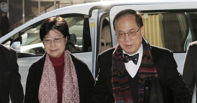 Ex-Hong Kong leader gets 20 months in jail for misconduct