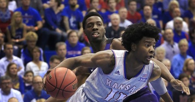 Kansas star Jackson charged with criminal damage