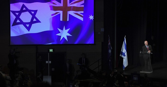 Israeli prime minister hopes to treble trade with Australia