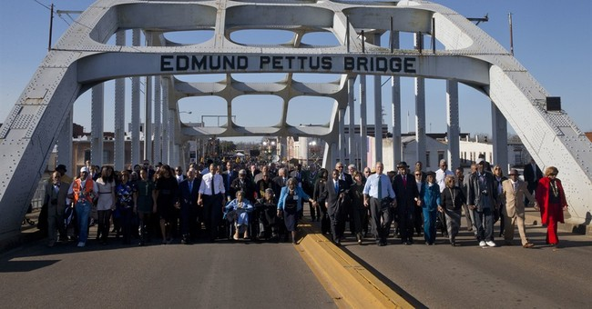 The Latest: Selma organizers say they're going forward