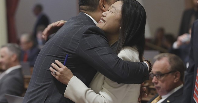 California senator removed after criticizing late lawmaker