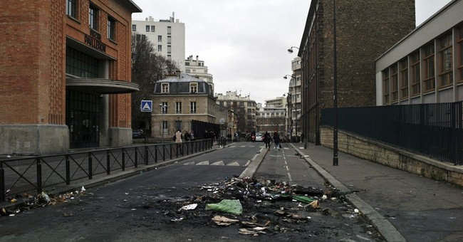 Paris teens block schools to protest alleged police rape