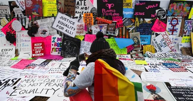 Texas Republican criticizes explicit signs at women's march