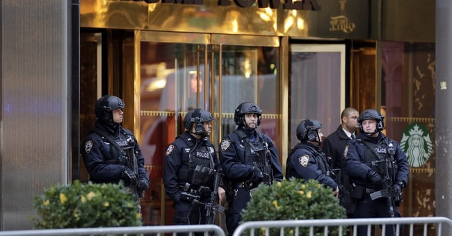 NYC lowers cost estimate for presidential protection