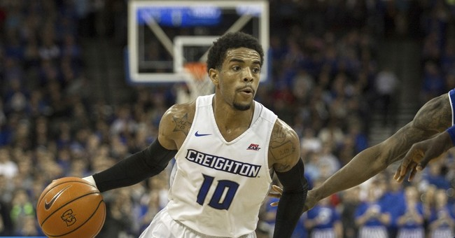 Creighton point guard turns himself into authorities