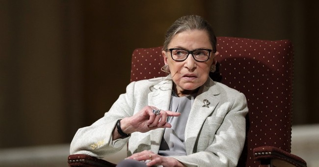Justice Ginsburg praises media and the role of a free press