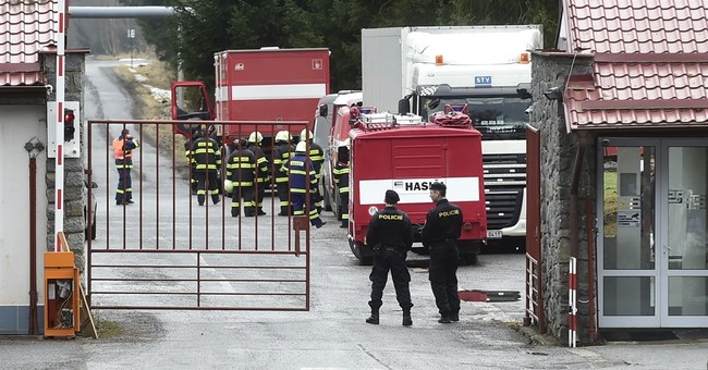 At least 19 injured in series of explosions in Czech plant