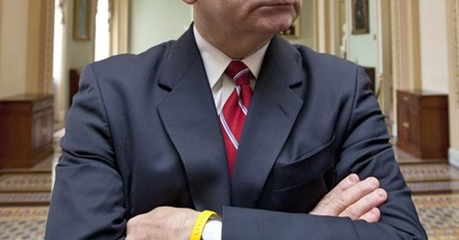 Senator meets with constituents, but tweets, photos barred