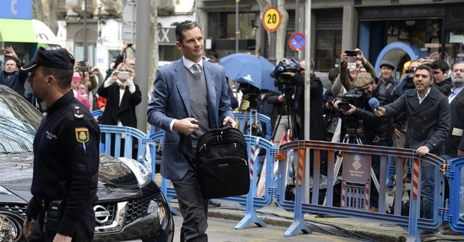 Husband of Spain's princess avoids jail while awaits appeal