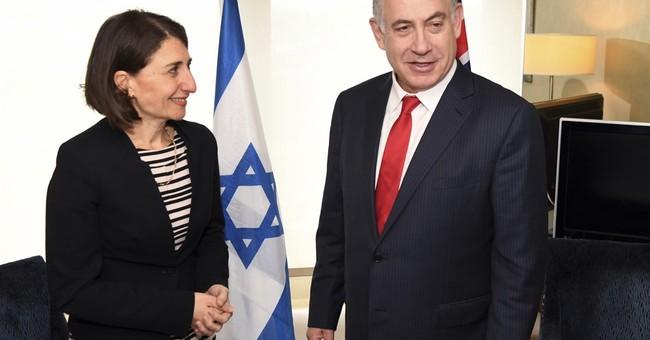 Israeli prime minister meets  Australian opposition leader