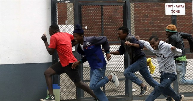 South Africa anti-immigrant protests erupt in capital