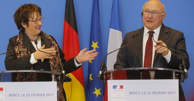 China, France overtake US as top German trade partners